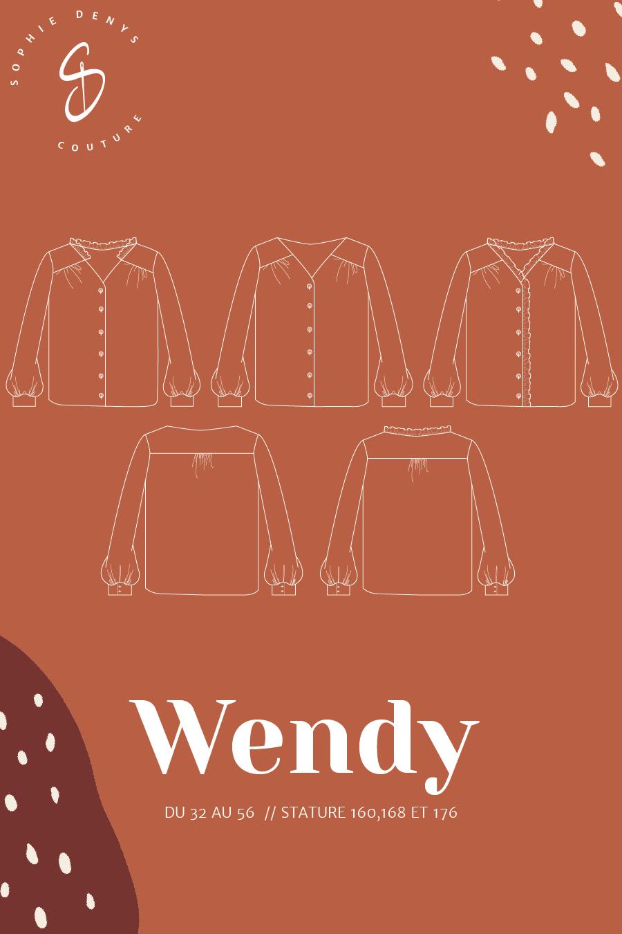 présentation-chemisier-wendy-sophie-denys-couture